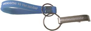 Sandbar Bottle Opener Key Chain