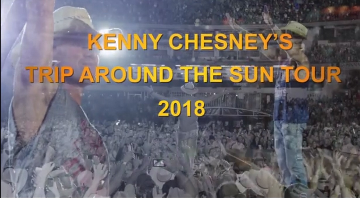 Kenny chesneys trip around the sun welcome to the sandbar with live from no shoes nation the 30 song live recording celebrating the heart and soul of the million fans who come out each summer to see chesney live m4hsunfo